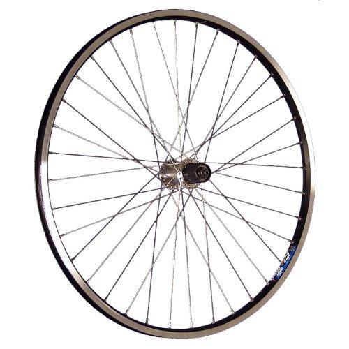 Taylor-Wheels 26 Pollici Ruota Posteriore Bici ZAC19 Tourney 7-10 Nero/Argento