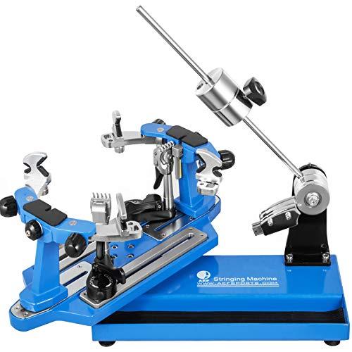 VEVOR Máquina de Encordar de Tenis 53x22x25cm Máquina de Encordado de Raquetas de Tenis de Mesa Herramientas de Encordado de Raquetas de Tenis Máquina de Encordado (Azul)