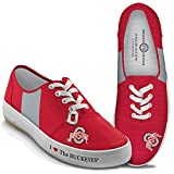 Bradford Exchange I Love Ohio State The Buckeyes Women's Shoes: 8.5 by The