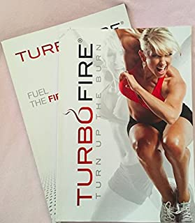 Turbofire Deluxe Workout Set of 2 Program Books (Turn up the Burn and Fuel the Fire) (Paperback) By Chalene Johnson (Author)