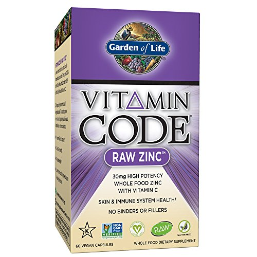 Garden of Life vegan zinco – Vitamin code Raw zinco intero integratore...