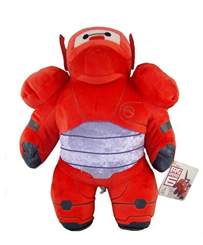 PLÜSCH BAYMAX IN RÜSTUNG ACTION FIGUR BIG HERO-6 30cm QUALITÄT SUPER SOFT