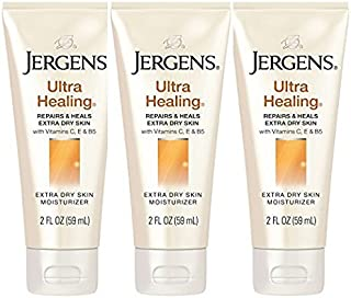 (3 Pack)-JERGENS Ultra Healing Extra Dry Skin Moisturizer, 2 oz. each