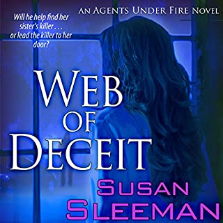 Web of Deceit audiobook cover art