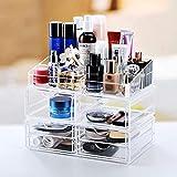 QAZX Haus und Garten Produkte Cosmetic Organizer Schubladen durchsichtige Kunststoff...