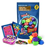 30 Medium Dreidels - Assorted Colors - Classic Chanukah Spinning Draidel Game, Gift and Prize - Bulk Value Pack - by Izzy n Dizzy