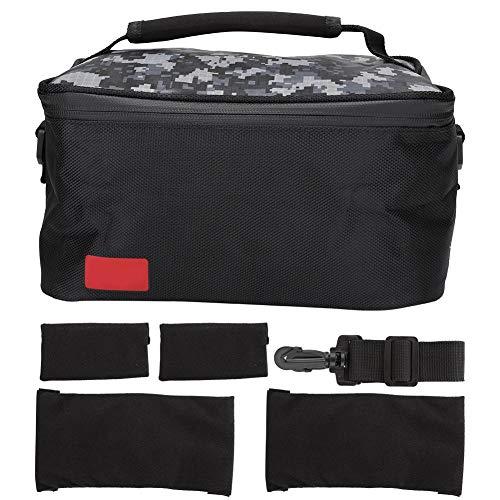 ASHATA draagbare multifunctionele schoudertas, speelmachine, opbergtas met handvat en schouderriem, accessoireorganizer voor Switch Host, Gamepad, USB-kabel, enz.