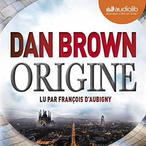 Origine (Robert Langdon 5) audiobook cover art