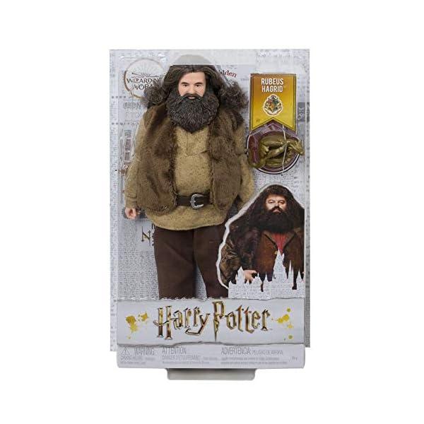 Harry Potter Muñeco Hagrid de la colección de Harry Potter (Mattel GKT94)