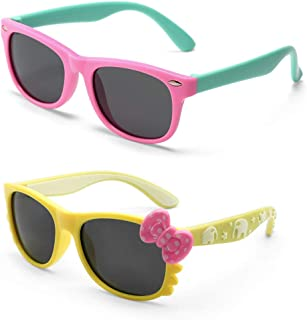 Sunglasses for Kids, Age 4-12 Years Old, Girl or Boy...