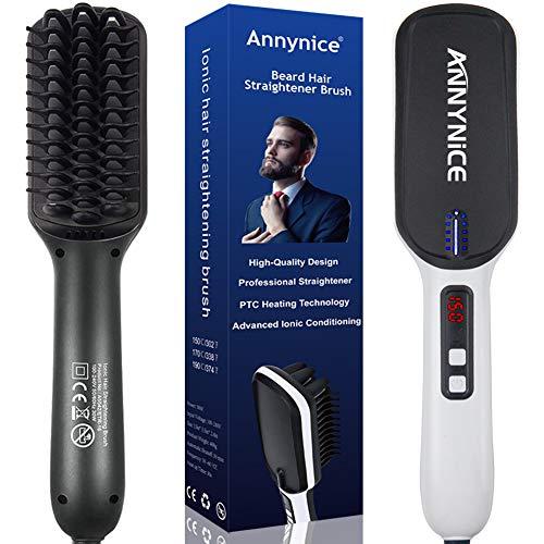 6. Annynice Professional Beard Hair Straightening for Men