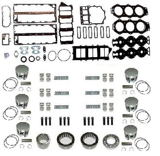 Great Features Of TSM Performance Powerhead Rebuild Kit Yamaha V6 150-225hp EFI, 1993-2009