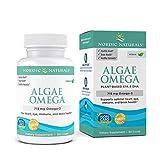 Nordic Naturals Algae Omega - 715 mg Omega-3 - 60 Soft Gels - Certified...