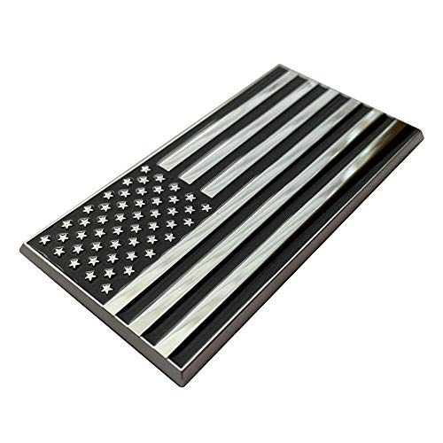 Patriot Accessories American Flag Metal Decal Auto Emblem