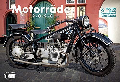 Motorräder & Routen 2020 - Broschürenkalender - mit Schulferientabelle - Format 42 x 29 cm