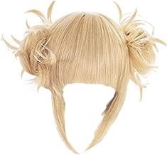 GZIRUE Toga Himiko Wig Halloween Daily Anime My Hero Cosplay Costume Lolita Blonde Hair