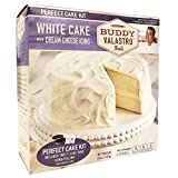 Buddy Valastro Foods Perfect Cake Kits - Cake Mix, Cake Pans, Icing, and Filling (White Cake)