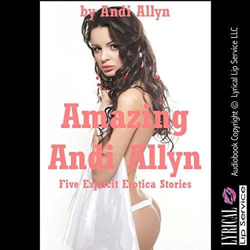 Amazing Andi Allyn audiobook cover art
