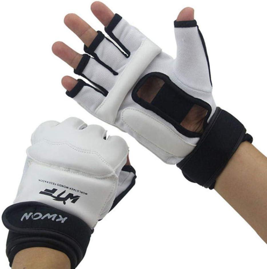SHOUTAO Kinder Halbfinger Boxhandschuhe Handschuhe Sanda Karate Sand Taekwondo Protector
