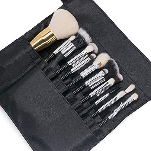 Inconnu WFZ17 Trousse de Maquillage Professionnelle en Similicuir avec Sangle de Rangement