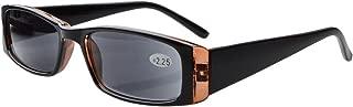 Eyekepper Spring Hinges Rectangular Reading Sunglasses Sunshine Readers +1.0