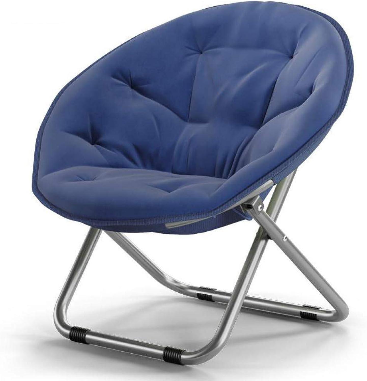 CAMPBROTHER Camp Stuhl Groe Erwachsene Moon Chair Sonnenliege Lazy Chair Radar Recliner Klappstuhl Round Chair Sofa Rückenlehne