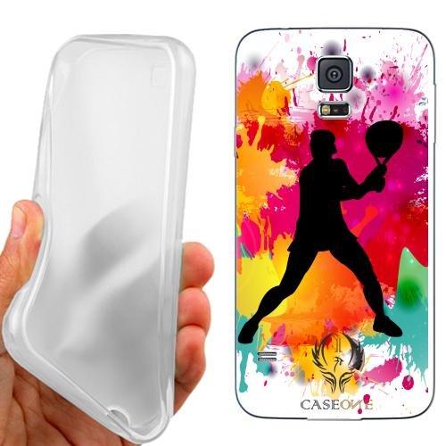 Custodia Cover Case Tennis Maschile per Samsung Galaxy S5 G900 i9600
