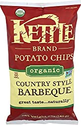 Kettle Foods, Chips Potato Barbecue Country Style Organic, 5 Ounce