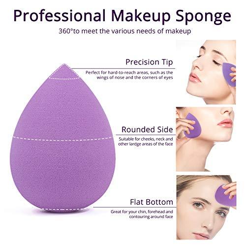 Lot de 5 Éponges de Maquillage BEAKEY - 2