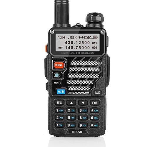 Baofeng RD-5R DMR digitales Amateurfunk Transciever dualband Doppelzeitschlitz Handfunkgerät 1024 Kanäle Tier I & II kompatibel mit MOTOTRBO, gratis Programmierkabel