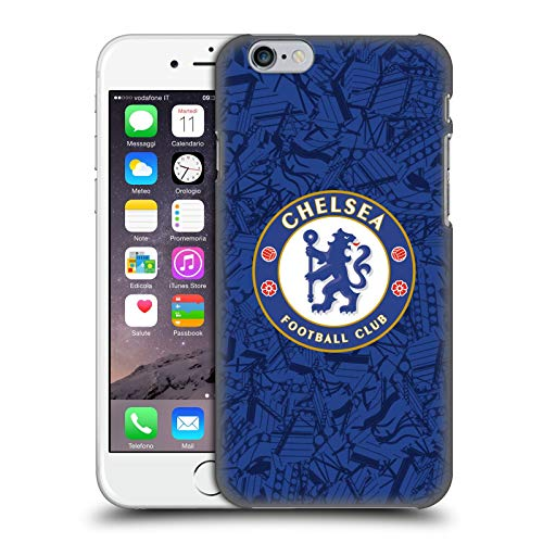 Head Case Designs Offizielle Chelsea Football Club Home 2019/20 Kit Harte Rueckseiten Huelle kompatibel mit Apple iPhone 6 / iPhone 6s