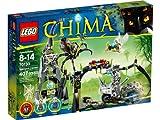 LEGO Legends of Chima - Playthèmes - 70133 - Jeu De Construction - La Grotte de Spinlyn