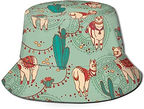 balderdash01 Bucket Hats - Sombrero unisex de piel de vaca con textura de vaca, color blanco y negro, sombrero de pescador, sombrero de verano, universo y crema de hielo, talla única, transpirable
