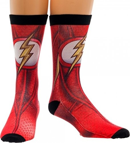 Crew Socke – DC Comics – Flash Charakter Sublimated New Lizenzprodukt cr2e7edco