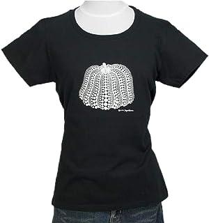 草間彌生 Tシャツ [かぼちゃ(ブラックx白)] WMサイズ