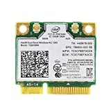 MQUPIN Dual Band Wirless - Intel 7260.HMW Dual Band Wireless-AC 7260 Network Adapter+Bluetooth 4.0 USE for Intel AC Half Mini Pcie Card 802.11 b/a/g/n/ac
