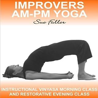 Improvers AM - PM Yoga audiobook cover art
