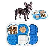 Tappetino da Leccare per Cani con Ventose, Dog Lick Pad Mat per Cani Bagno Toelettatura, Alimentatore Lento per Animali Dispositivo di Distrazione per Il Bagno del Cane Cuscinetto per Leccare