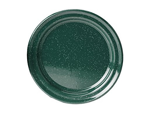 GSI Outdoors 10 Inch Enamelware Plate for Camp, Cabin and Farmhouse Kitchen