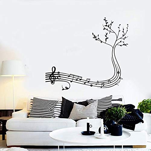 Tianpengyuanshuai wandsticker muzieknoten boom muziek woonkamer concert decoratie wandsticker vinyl