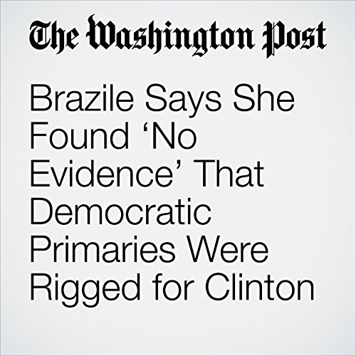 Brazile Says She Found 'No Evidence' That Democratic Primaries Were Rigged for Clinton copertina
