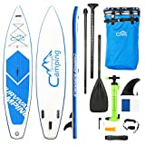 Xiaolizi KS-SP1009 12'Adult Wakeboard Stand Up Paddle Board Inflatable SUP for Beach Surfing