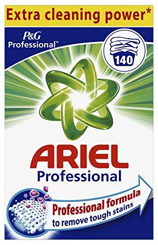 Ariel Professional Vollwaschmittel Pulver, 9,1 kg, 1er Pack (1 x 140 Waschladungen)