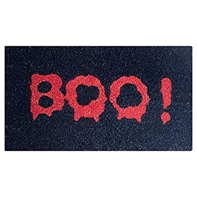 Pure Coco Coir Doormat with Heavy-Duty PVC Backing - Natural - Size: 18-Inches x 30-Inches - Pile Height: 0.6-Inches - Perfect Color/Sizing for Outdoor/Indoor uses.