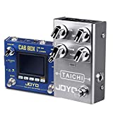 JOYO Pedals Cab Box Amp Simulator & Overdrive Pedals for Electric Guitar Effects Most Frequently Combination Budget Pedals in Bundle