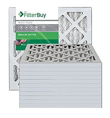 Furnace Filters/Air Filters - AFB Silver MERV 8 (12 Pack)
