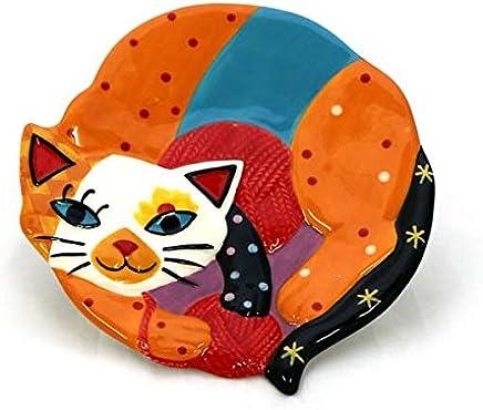 Preisvergleich für Gall&Zick Katzen Teller Set/2 Tellerchen Snackteller Servierteller Keramik