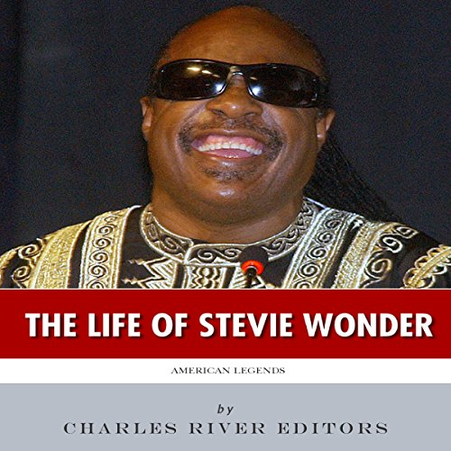 American Legends: The Life of Stevie Wonder audiobook cover art