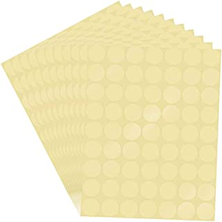 Clear Round Stickers 3000 Pcs Clear Retail Package Seal Labels Round Envelope Stickers Clear Adhesive Stickers 25 mm Transparent Round Super Gloss Seals Stickers Self Adhesive Labels Envelope Seals