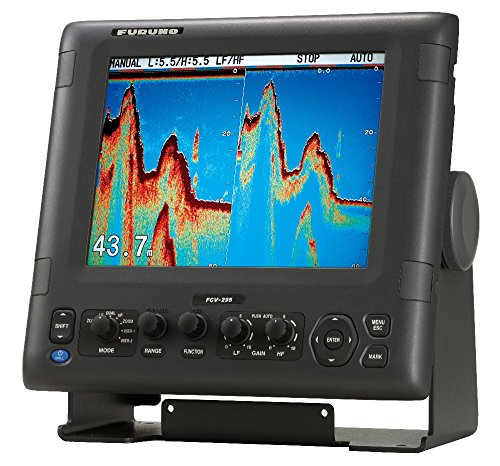 Furuno FCV295 Color LCD 1/2/3KW Transmitter 28-200Khz Operating Frequency Fish Finder, 10.4""